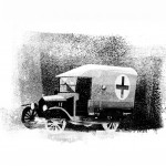Ambulance, from 'The Great War', Walker Books.