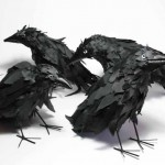 Crows, made for the 'Memory Palace' exhibition at the V&A