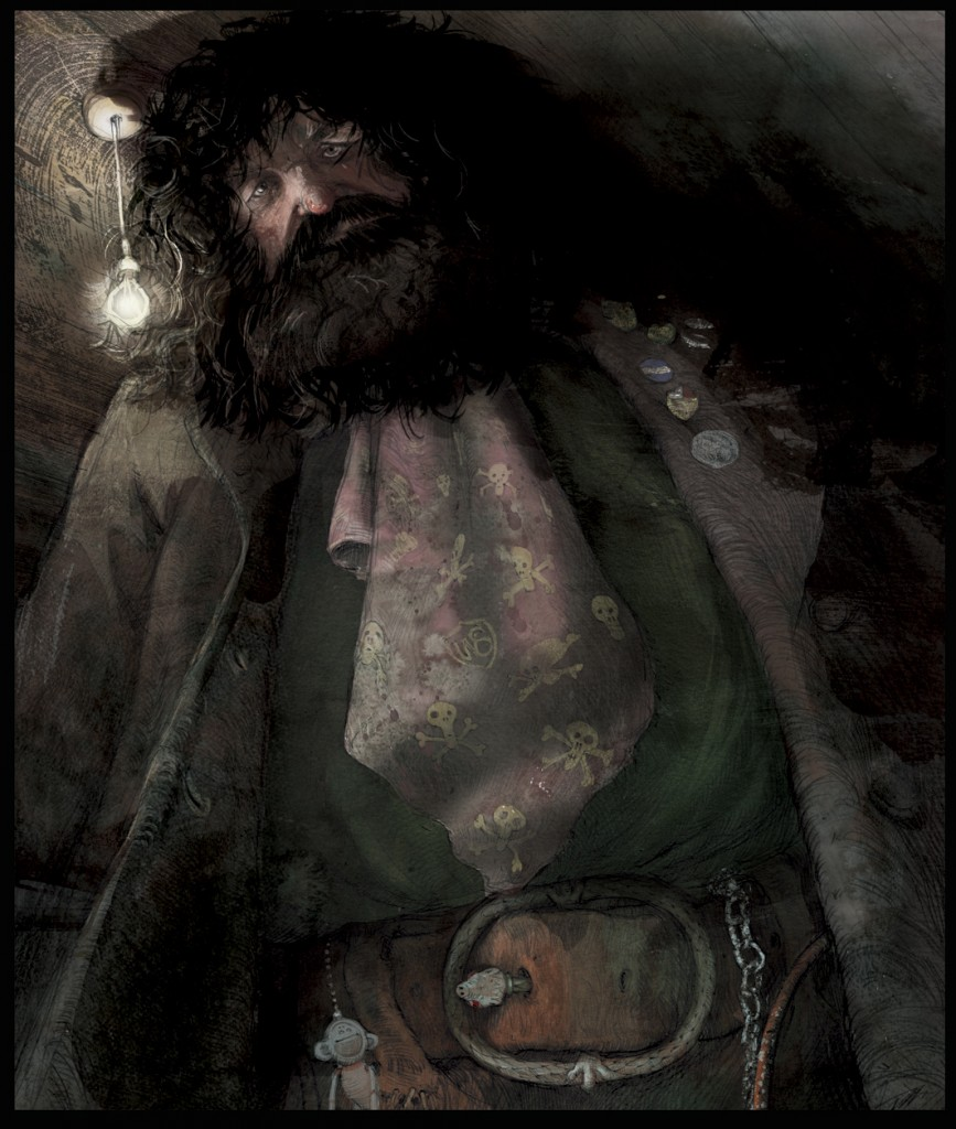 Hagrid, from 'Harry Potter and the Philosopher's Stone'