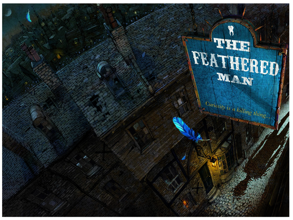Cover for 'The Feathered Man'