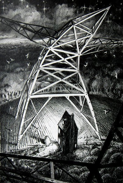 Pylon drawing for So Grandma Says