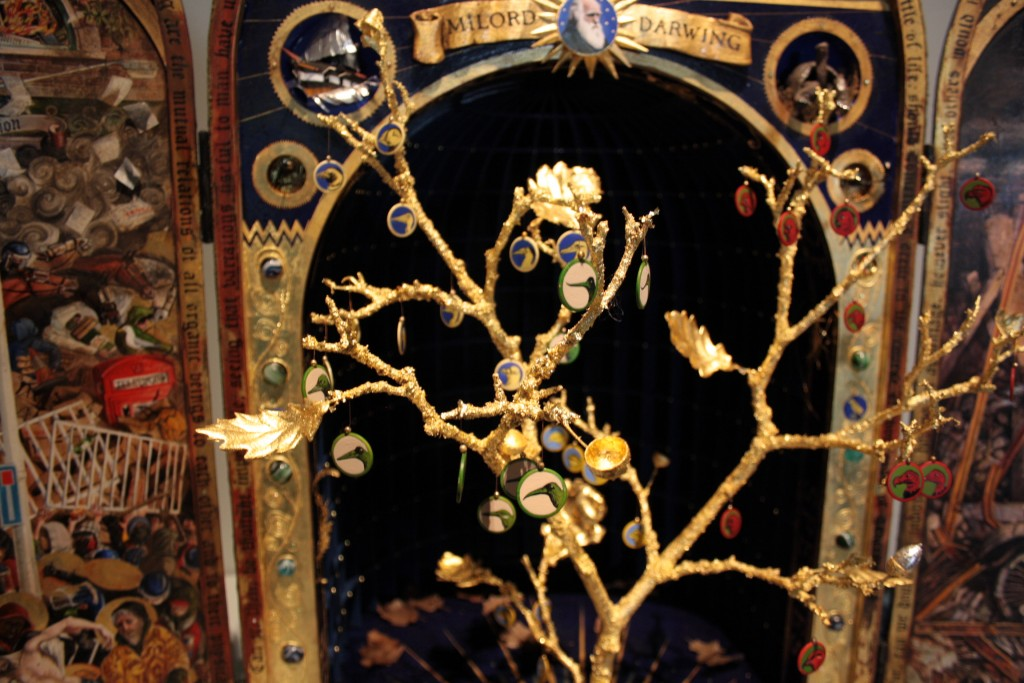Detail of 'Species Tree' in the reliquary