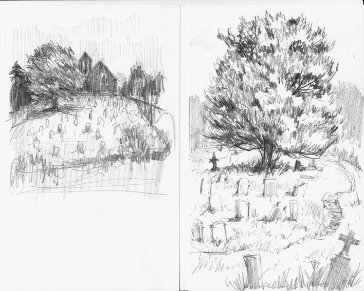 """Sketch for the tree in """"A Monster Calls"""""""
