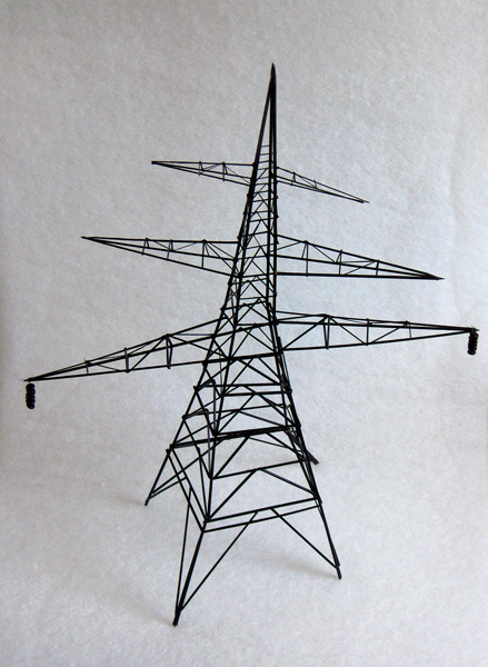 A pylon from the 'So Grandma Says' exhibition